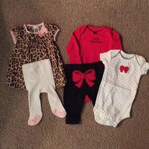 2 Carter's Newborn Sets